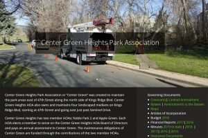 Center Green Heights Park Association